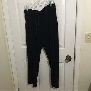 5/$45 Women's Pure Soft Size Large Black Pants